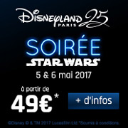 Soirée Star Wars Disneyland Paris