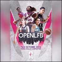 OPEN LFB 2016 - Basketball Féminin : Billets & Programme - Paris Halle Carpentier
